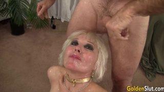Pristine Granny Dalny Marga Gets Passed Around Between Five…