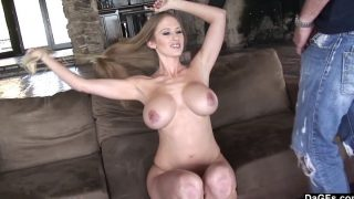 abby rode – Huge Boobed Cutie Abby Railed Enjoys Large Shaft