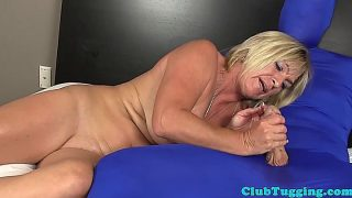 Mature Brandi Jaimes Tugs While Masturbating