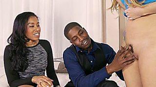 Black Couples And The Virgin Babysitter Bliss Dulce & Yasmi…