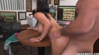 Ada Sanchez Busty Horny Brunette Plays With A Dick P3