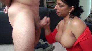 Alexis Rain 2 Facials + 1 Cum On Boobs For Mom