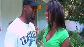 Ebony Slut Candice Nicole Takes Mr. Marcus' Black Dong Deep…