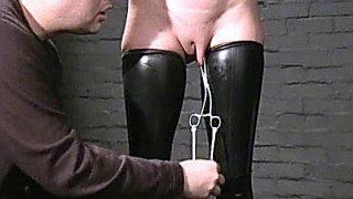 Sensory Deprived Slaveslut Cherry Torns Leather Fetish