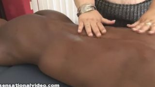 Desiree Devine Black Cock Massage
