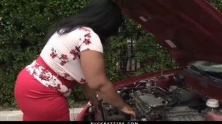 Fuckfatties – Bbw Ebony Delilah Black In A Fucking Car Trou…