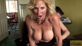 Blowjob – Mature Subslut Molly Maracas Plowed Hard Before Cum Buffet
