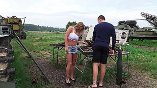 Hot Blonde Viola Bailey Anal Outdoors Fuck . Part One