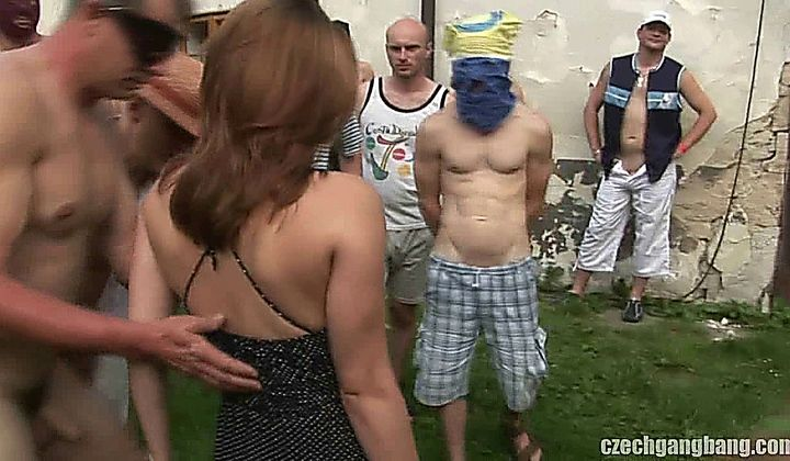 At party 720p gangbanged Meet the