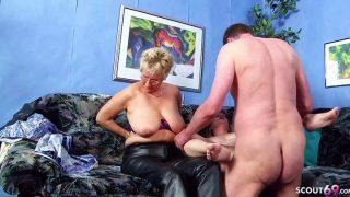 Straight – German Old Couple Seduce Mature Maid To Ffm Threesome Sex
