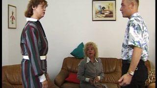 Granny – Viererfick Im Altersheim Mit Zwei Damen