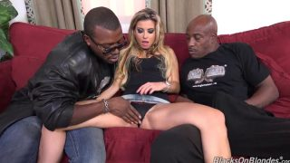 Cumshot – Blonde Milf Alana Double Penetrated Roughly By Two Massive …