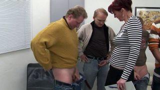 Cumshot – Older Cunt Gangbanged By Horny Men