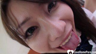Hairy – Asian Schoolgirl Gets Her Love Tunnel Slammed