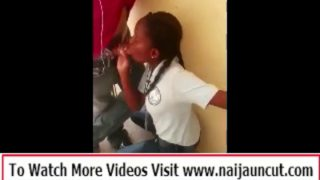 Straight – African Girl Blowjob